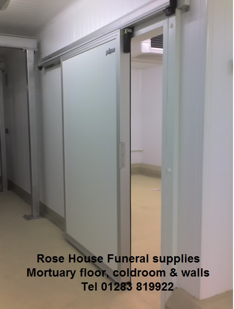 Completed funeral home refits