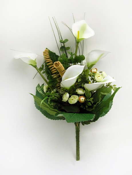 Mixed Bush (Calla Lily) White