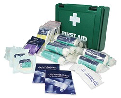 First Aid Kit - HSE Workplace Kit - Essentials 10/20/50 Person Options