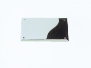Nickel Plated Plastic Name Plates