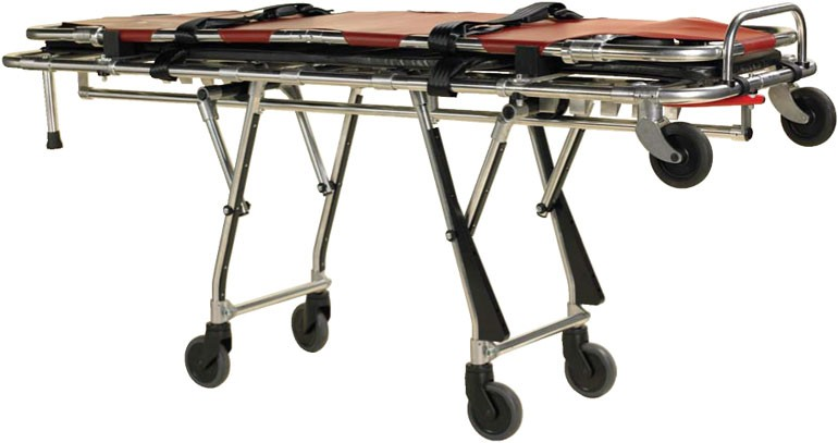 Multilevel stretcher with Detachable top