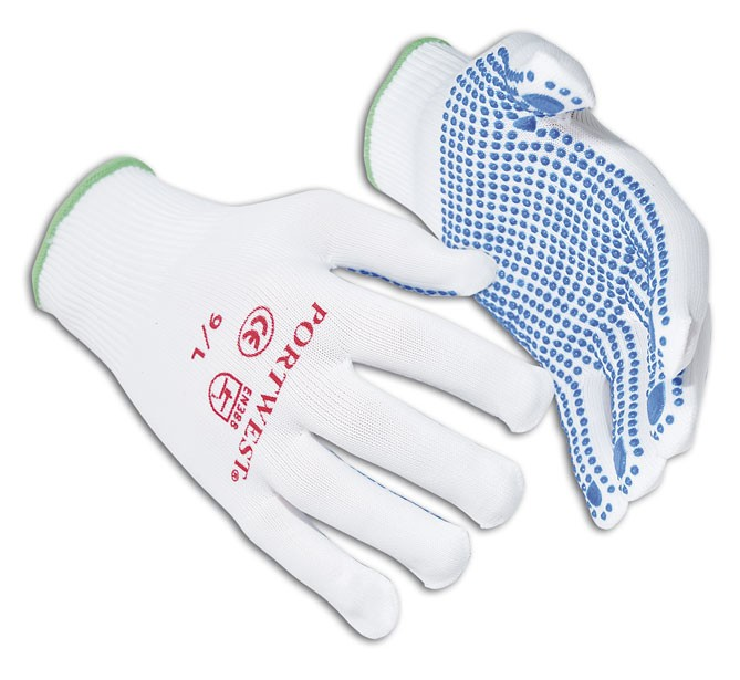 Nylon Polka Dot Glove