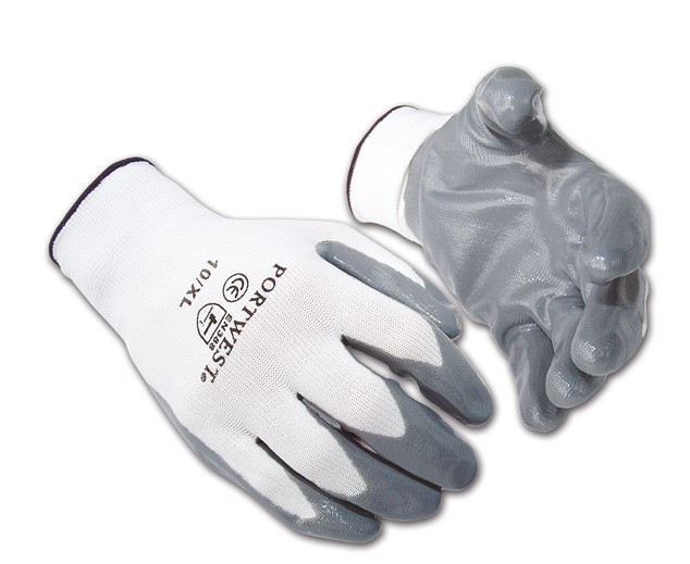 Flexo Grip Nitrile Glove