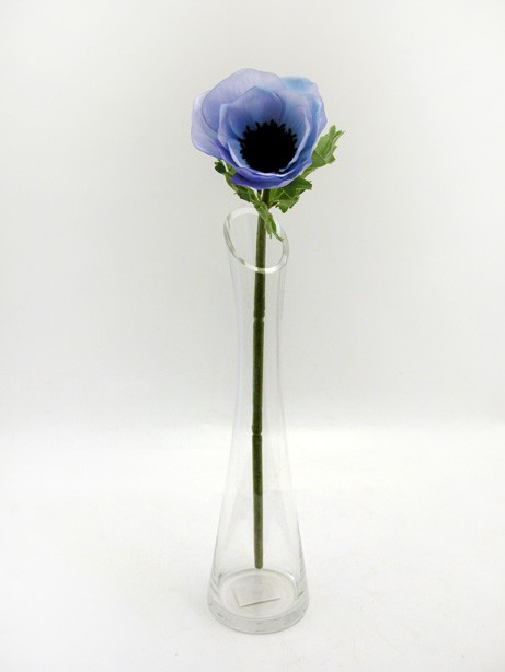 Anemone Stem Blue 37cm