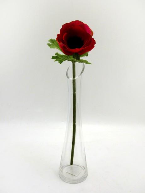 Anemone Stem Red 37cm