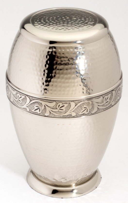 ASCOT NICKEL CREMATION ASHES URN