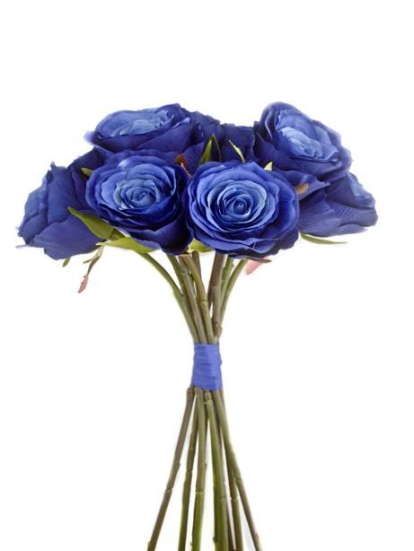 Blue Mood Dark Rose Bundle 44cm
