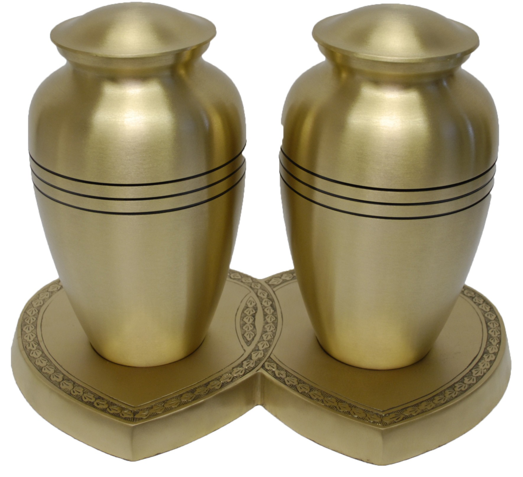 CHEADLE BRASS COMPANION CREMATION ASHES URN
