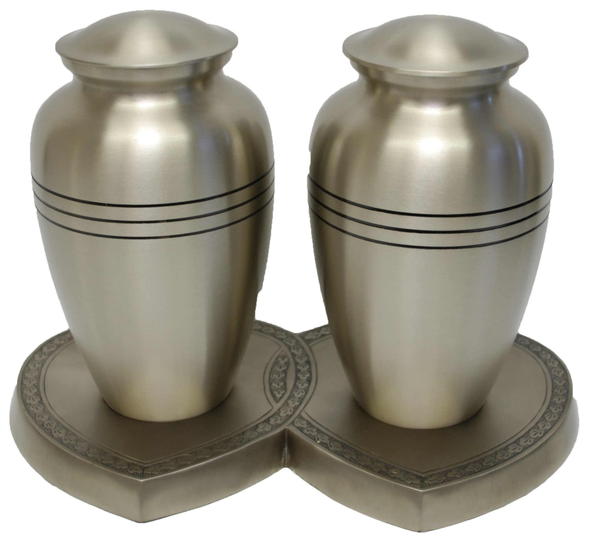 CHEADLE PEWTER COMPANION CREMATION ASHES URN