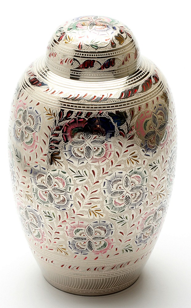 FARNHAM FLOWER CREMATION ASHES URN