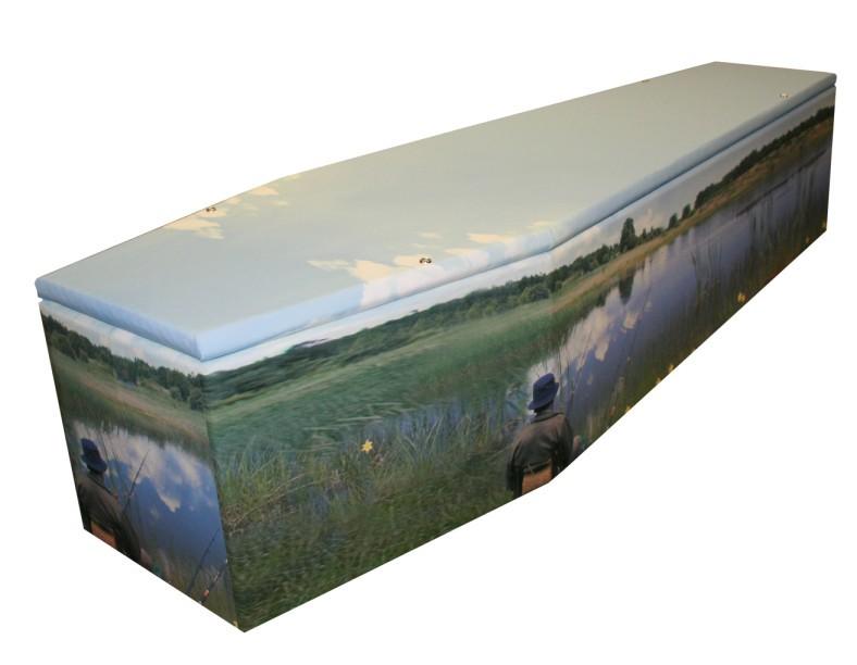 Fishing Cardboard coffin