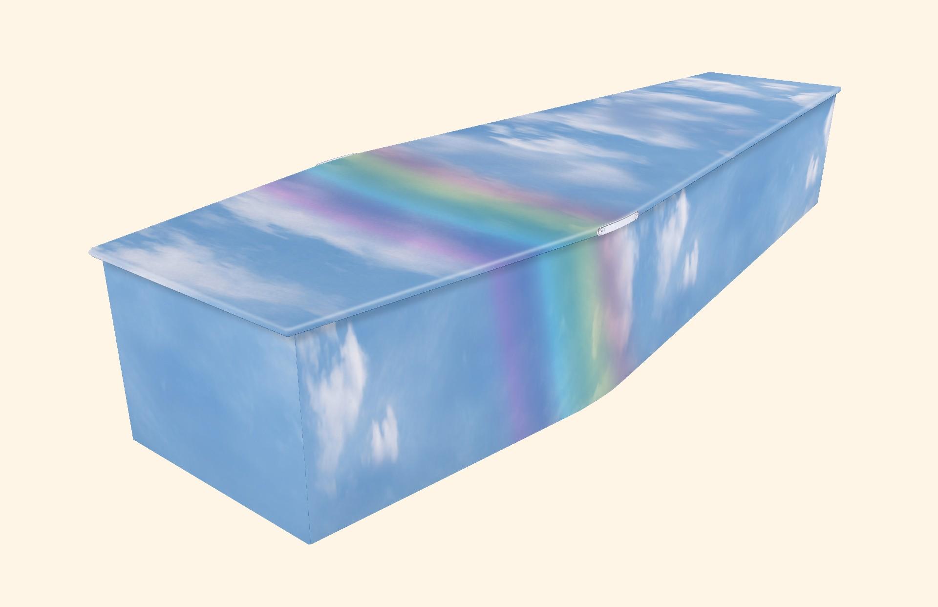 Fluffy Blue Rainbow (AB120b)