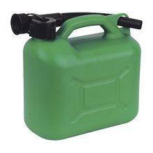 Plastic Fuel Can & Spout 5 Litre