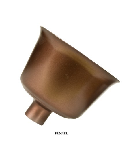 Ashes scatterer - solid Copper Top loading