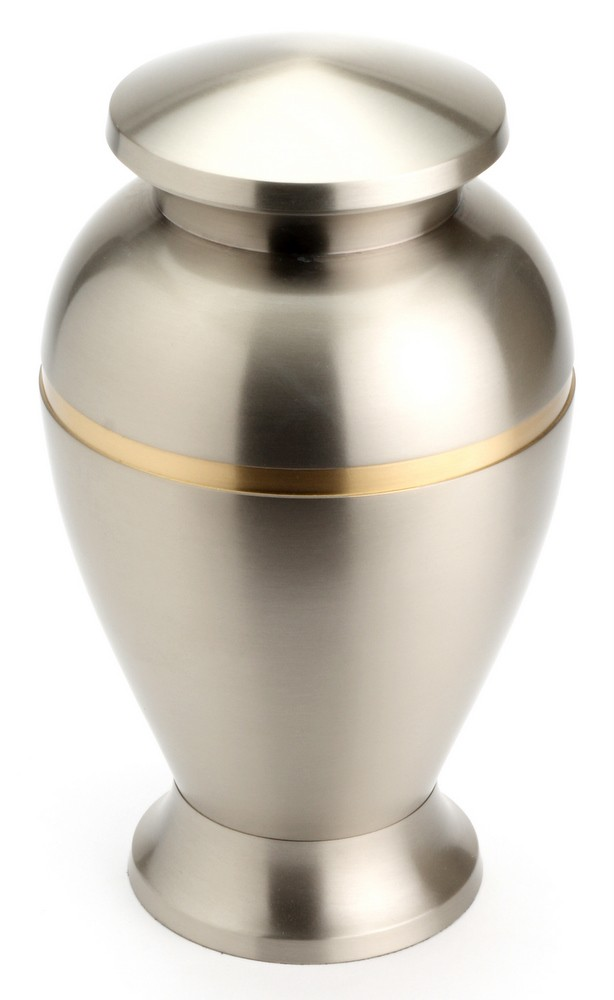 "Large Brass Urn 10"" (Henley Pewter UU100012A 200 CI)"