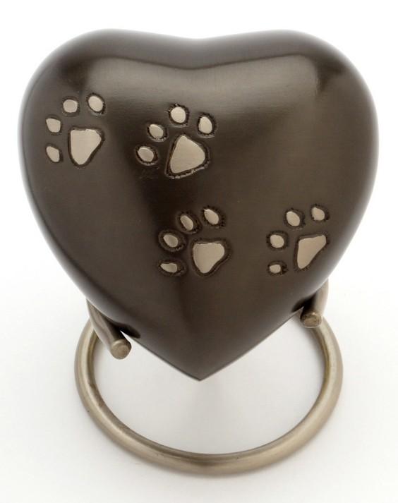 """Hertford Heart 3"""" pet keepsake"""