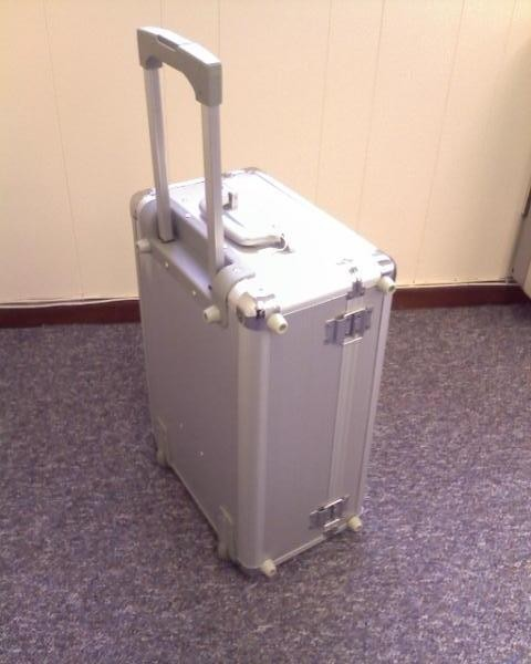 Aluminium Executive trolley case