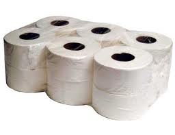 Mini jumbo toilet rolls pack 12