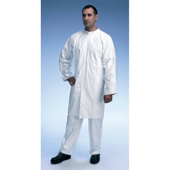 Tyvek Lab Coat Zip-Up PL309