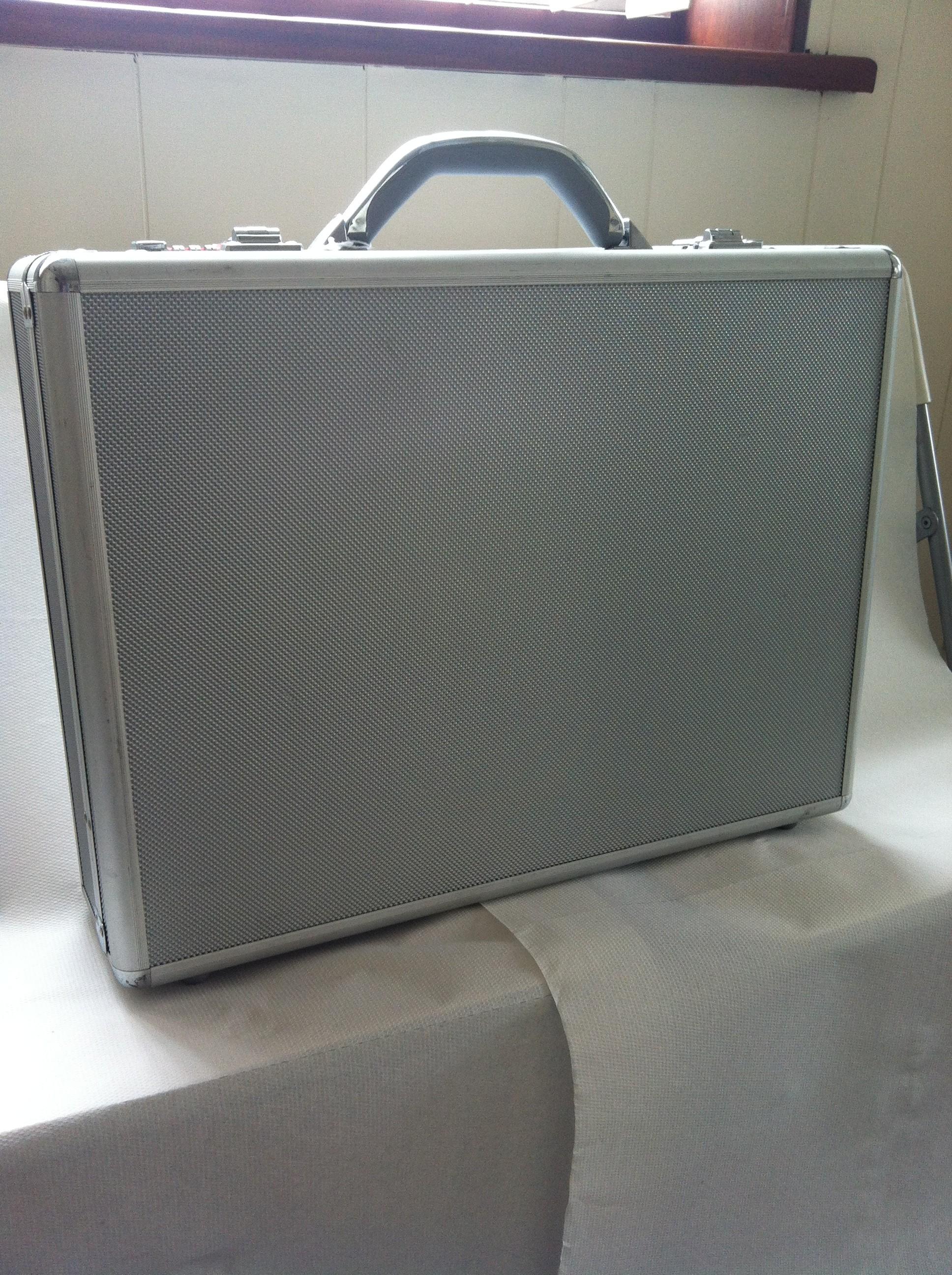 Large Aluminium Briefcase