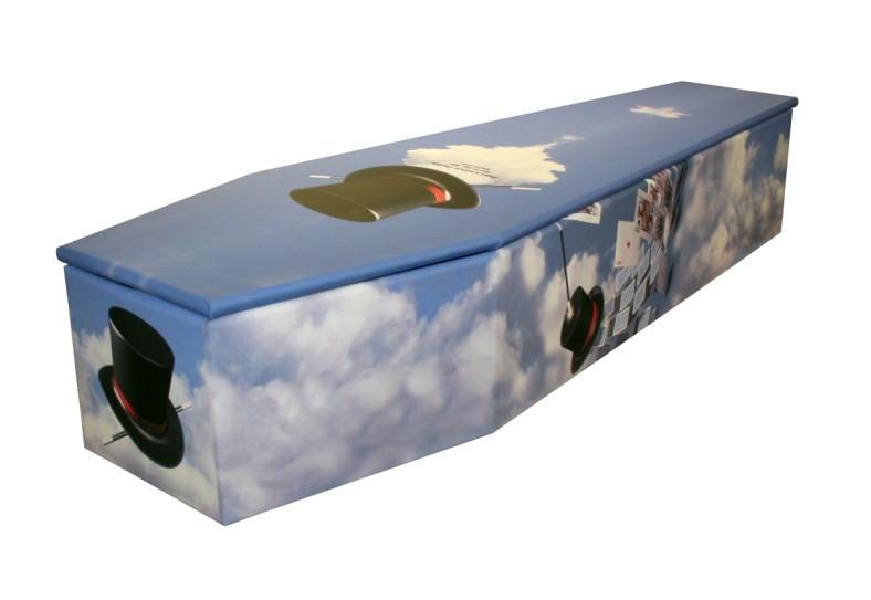 Magic Cardboard coffin