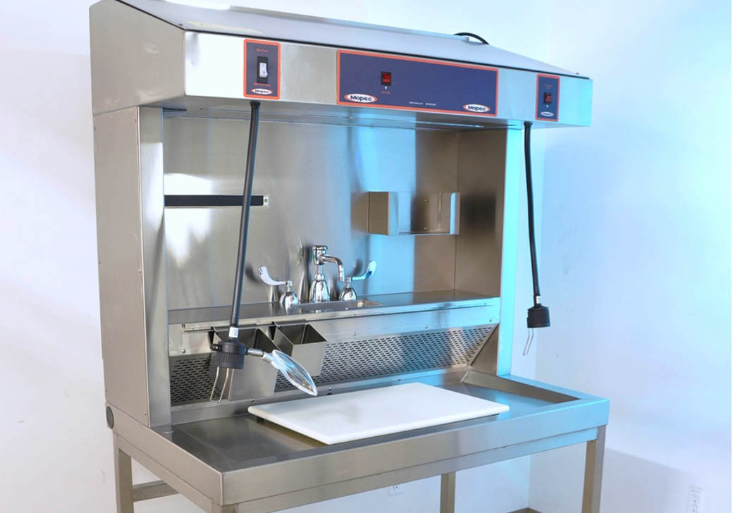Grossing Station - Countertop, Cup Sink - MB100
