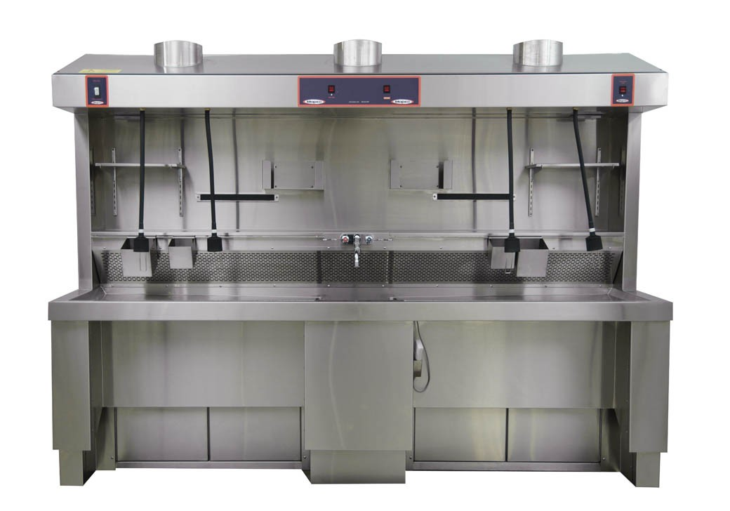 Grossing Station - Elevating, Shared Sink - MB670