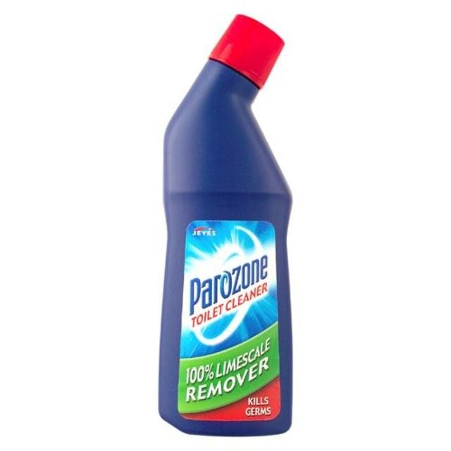 Parozone Limescale Removing Liquid Toilet Cleaner 750ml x 6