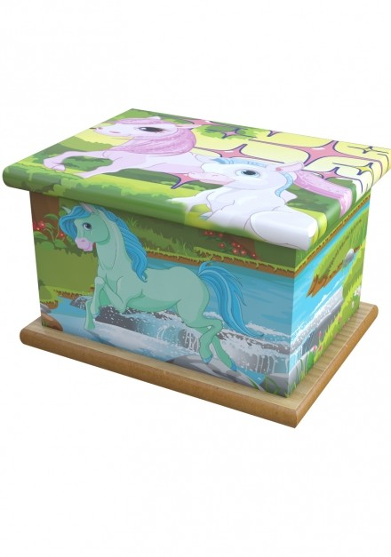 My Little Pony Child Cremation Ashes Wooden Child/Infant Urn