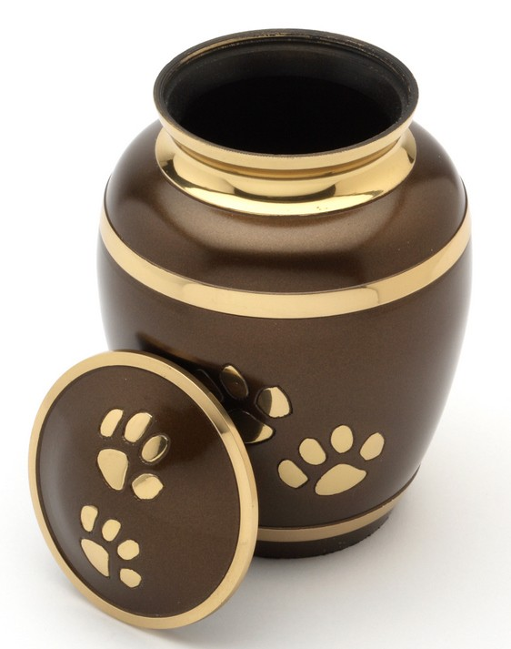 "Pet Urn Rochester 6"" high"