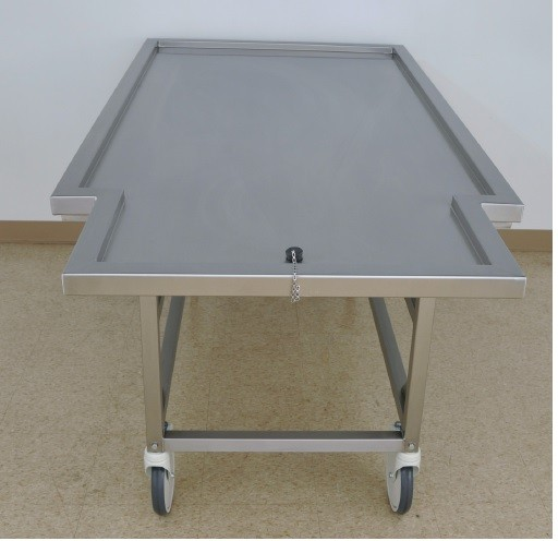 Bariatric portable embalming or wash table
