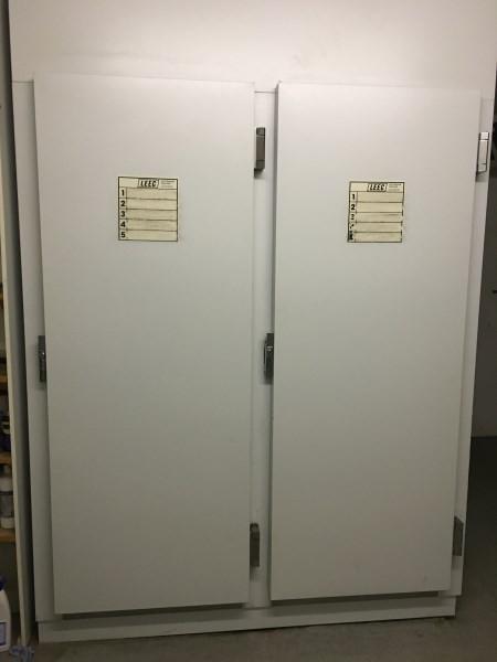 Second Hand 2 door mortuary cabinet
