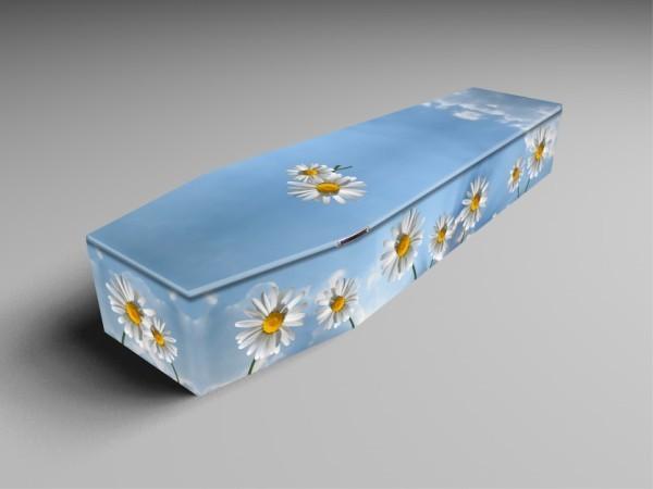 Summerdays, grass, gardener printed coffins