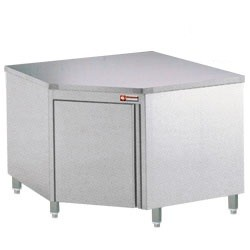 Stainless Steel Mortuary Corner Work Station