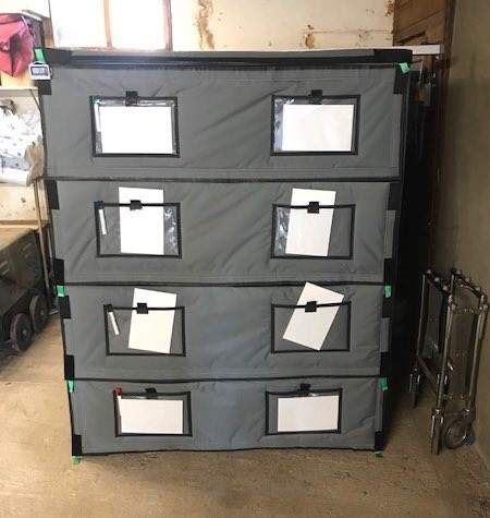 Temporary body storage