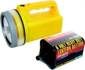 Kingavon 6v Torch With Free Battery