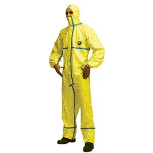 Tychem Biological Hazard Coverall Suit CHA5